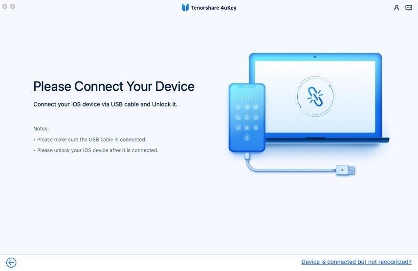 Connettere il Dispositivo to computer