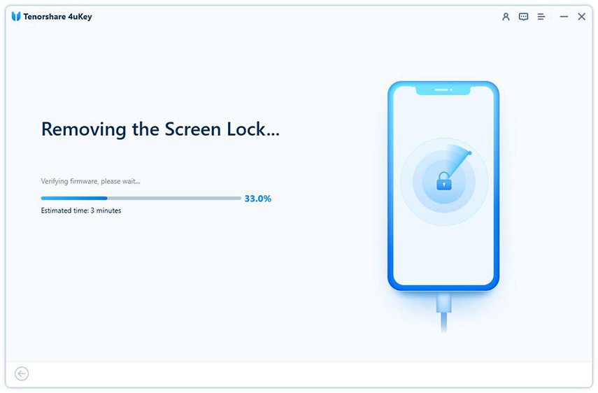 removing iphone passcode - 4uKey guide