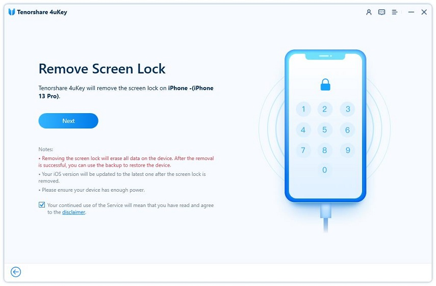 start unlock apple id