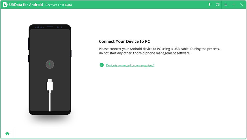 connect android device