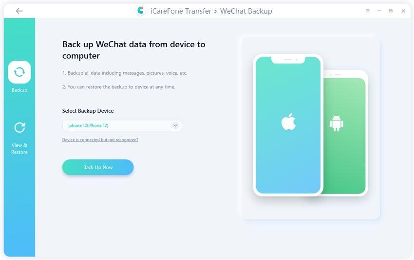 backk up wechat data - guide