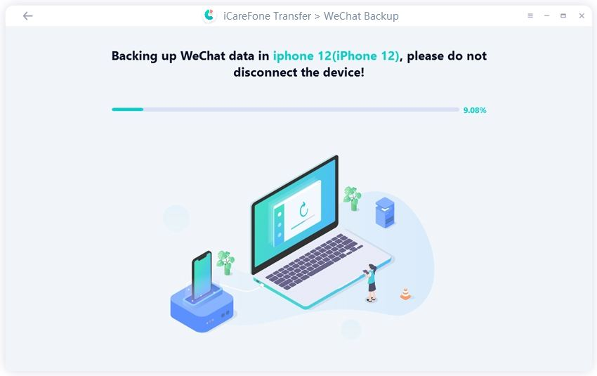 backing up wechat data - guide