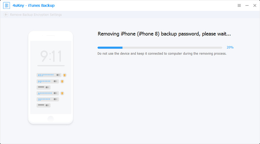 backing up - 4ukey itunes backup guide