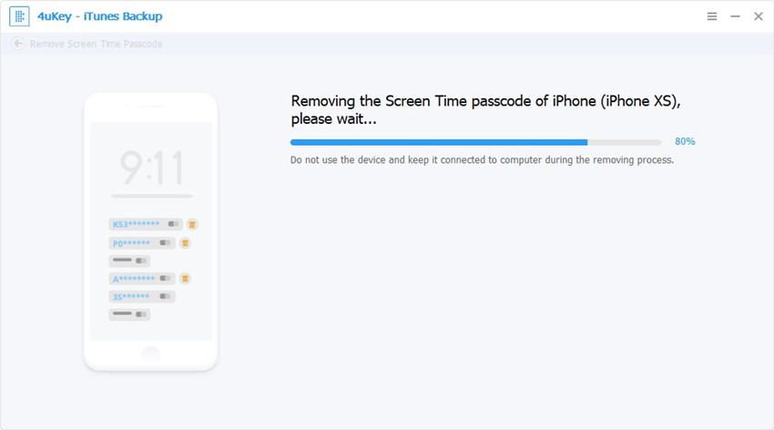 removing - 4ukey itunes backup