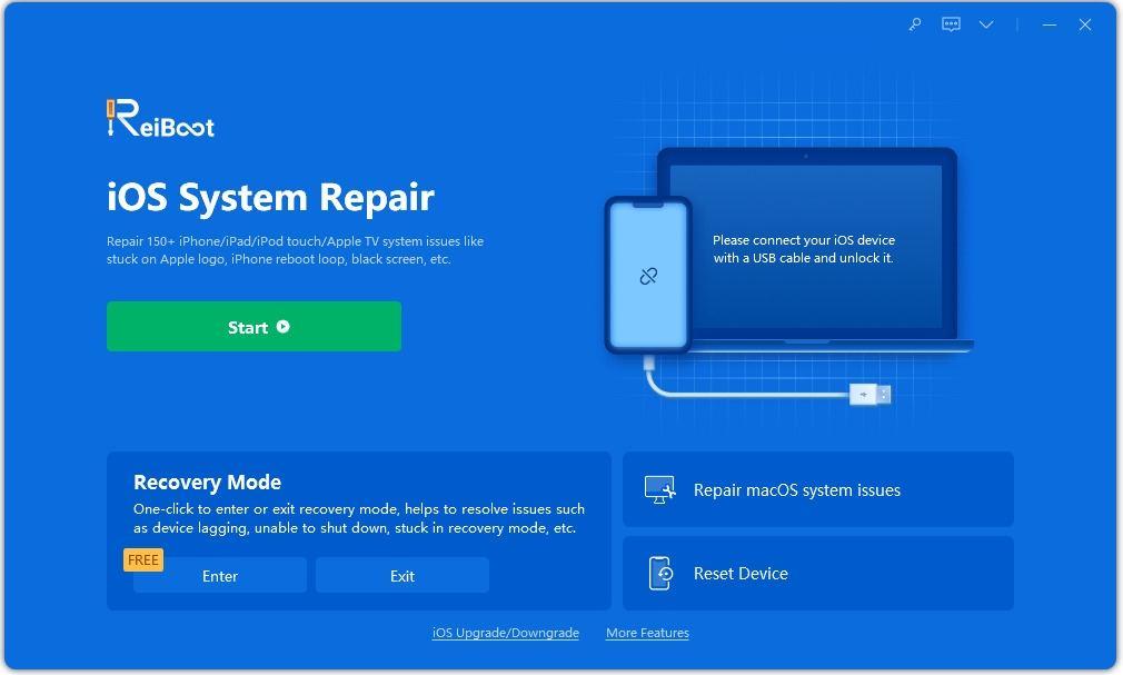 select repair operating system