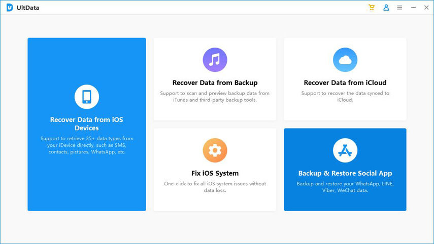 Choose Social App BACKUP and Restore Feature
