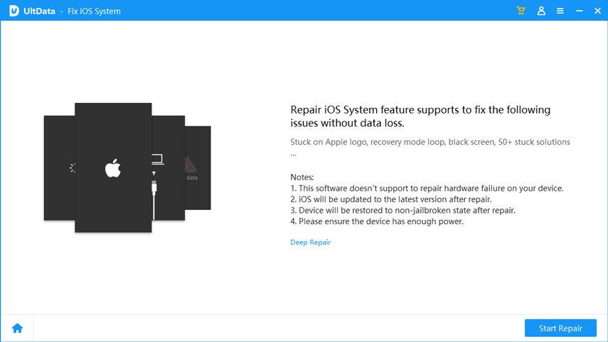 Repair iOS 13 Problems