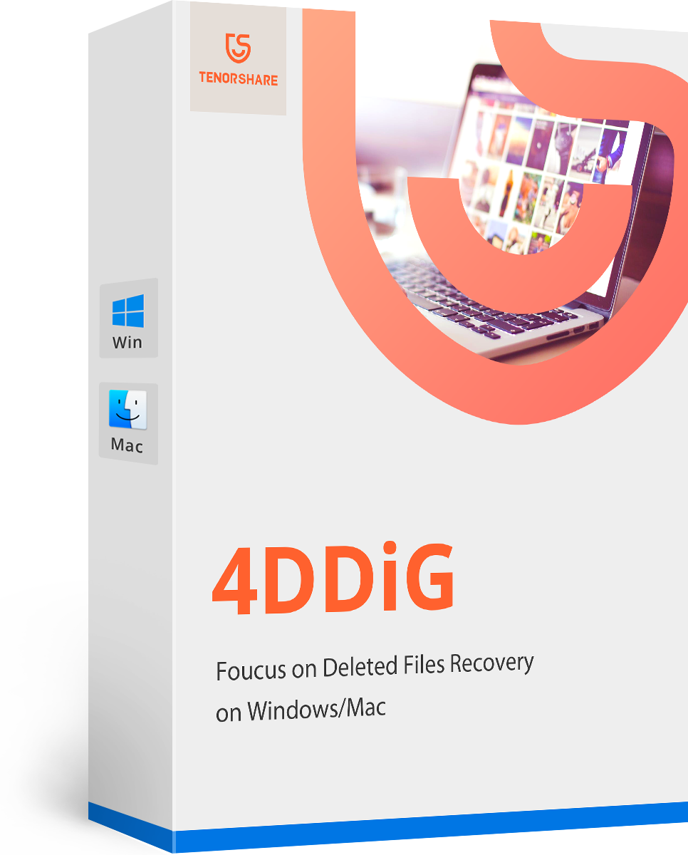 4DDiG - Mac/Windows Data Recovery