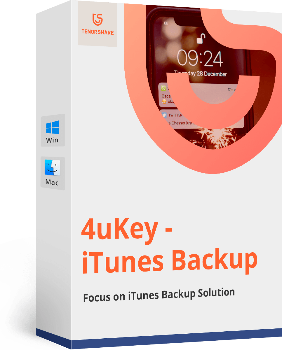 Tenorshare 4uKey - iTunes Backup