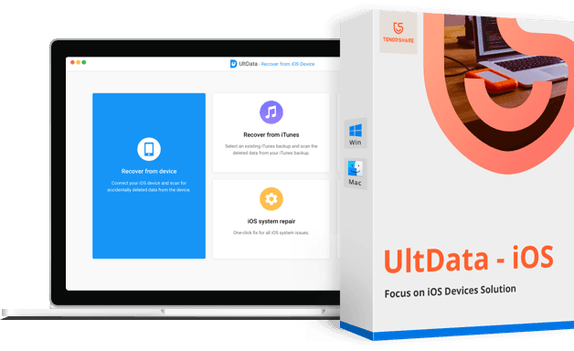 UltData iphone data recovery box 2