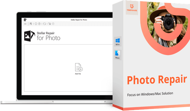 tenorshare photo repair - fix all photo problems quickly