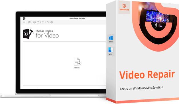Tenorshare Video Repair - Pro Video Repair Software