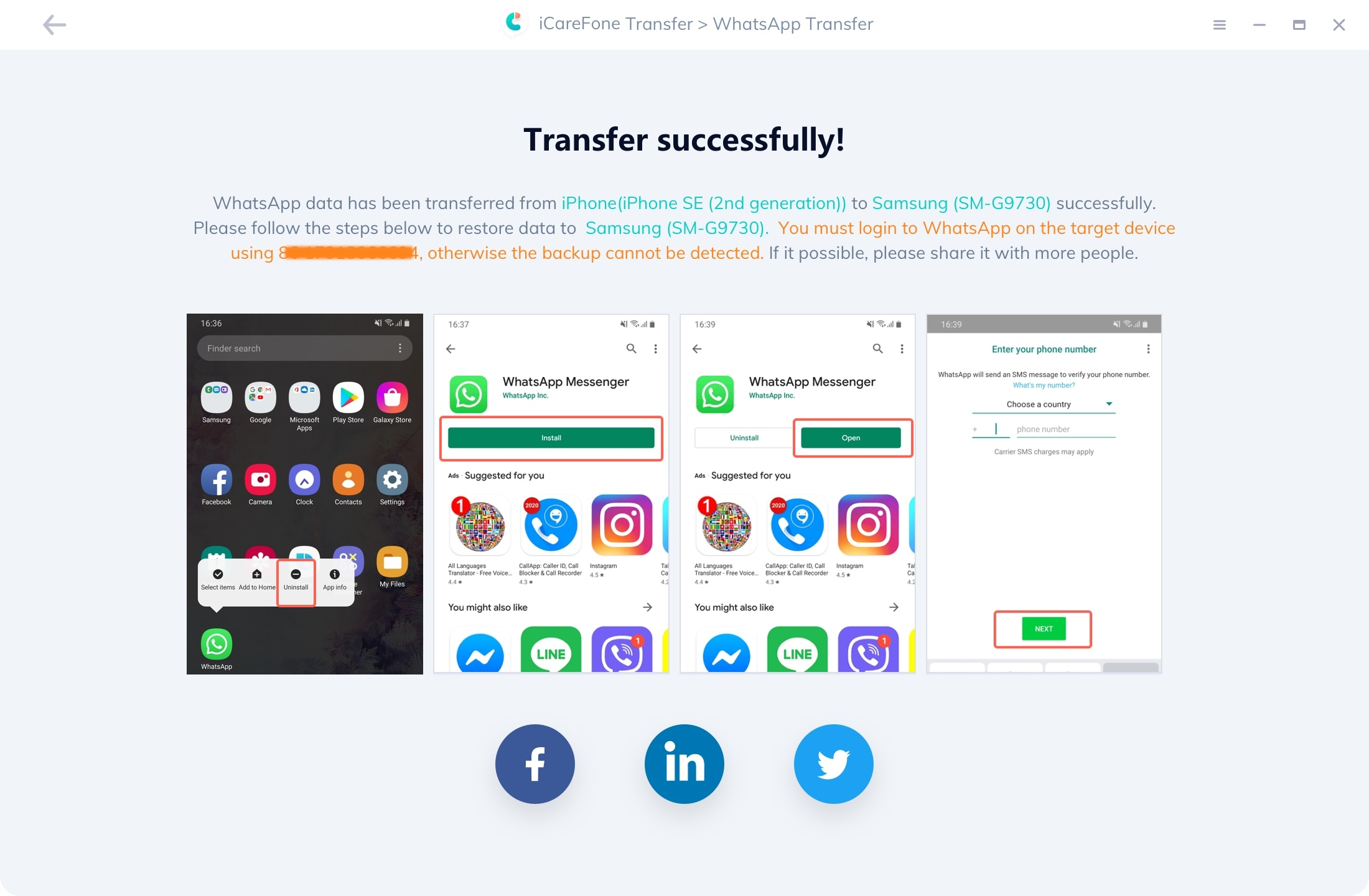 Transfer WhatsApp Messages Successfully - guide