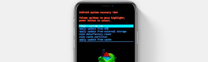 bloqué en mode recovery Android