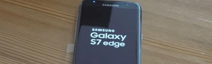 Samsung logosuna takılı kaldı