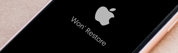 fix my iphone won't restore through reiboot