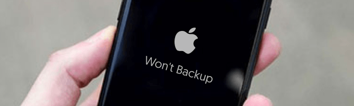 iphone won't backup to itunes - reiboot