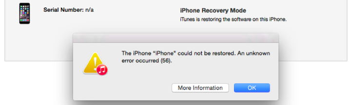 fix iTunes error reiboot