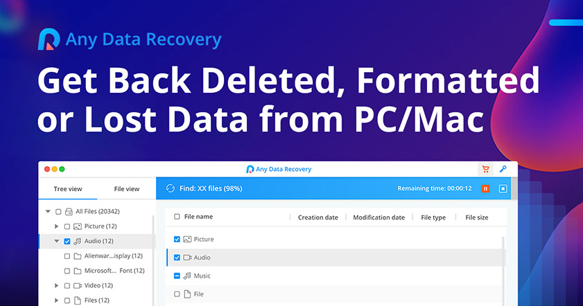 free any data recovery full version with crack