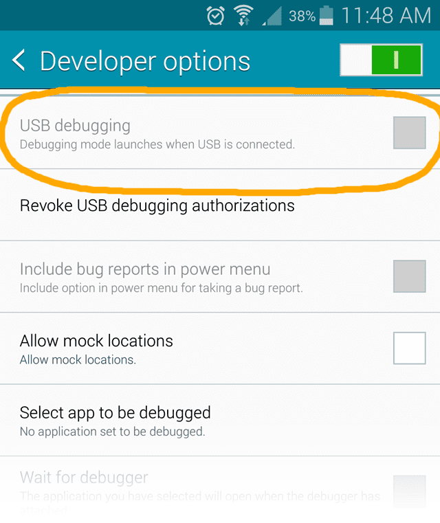 4 Ways to Fix Samsung Galaxy USB Debugging Greyed Out