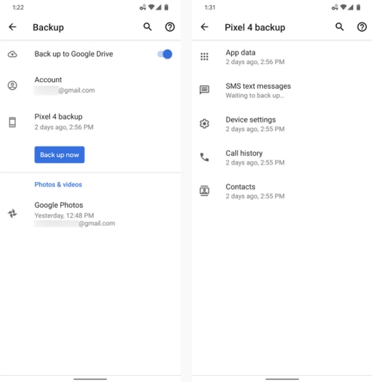 backup android phone to pc via usb