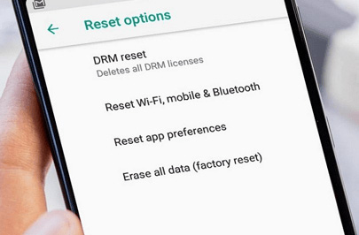 flash on android - hard reset