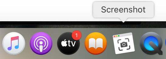 apple tv show notification icon