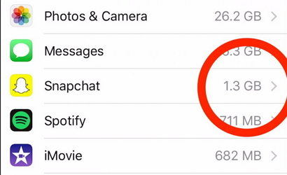 How to Permanently Clear Snapchat Storage Space on iPhone