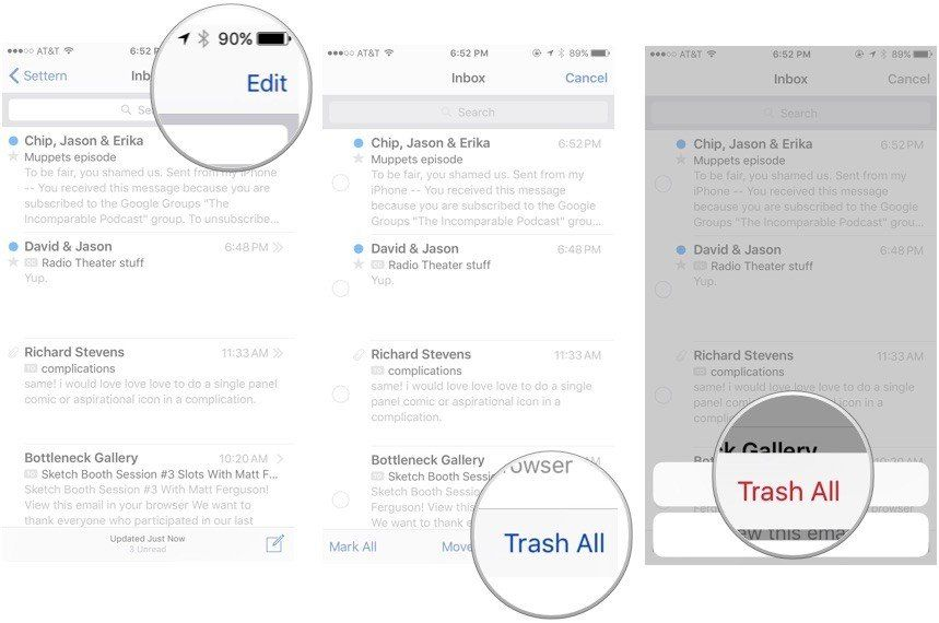 Top 3 Ways to Empty Trash on iPhone X/8/8 Plus/7/SE/6s/6/5S