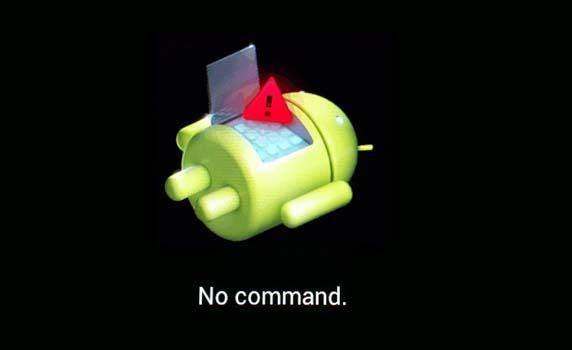 Aucune commande Android