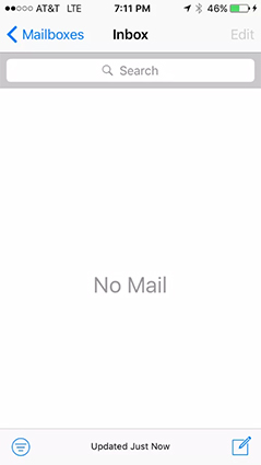 Solved] iPhone Email Not Updating Automatically