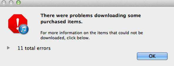 How to Fix iTunes Download Error: 'Download Error  Tap to retry