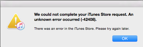 SOLVED]How to Fix iTunes Error Code: -42408