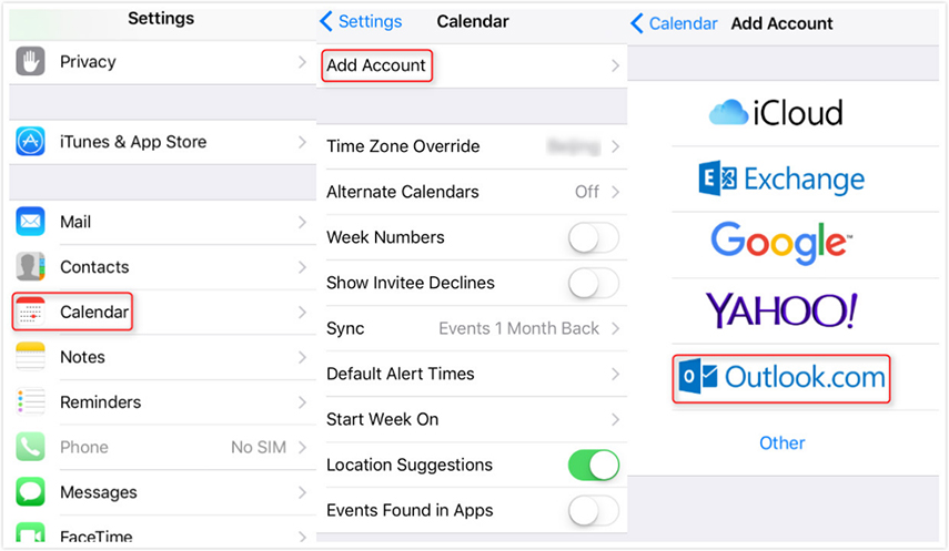How To Sync Outlook Calendar With Icloud