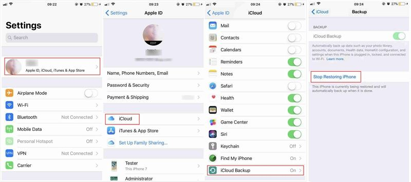 Solved] How to Fix iCloud Restore Stuck on Estimating Time Remaining