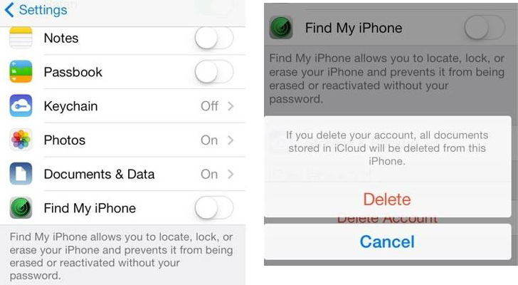 how to delete pof account off iphone