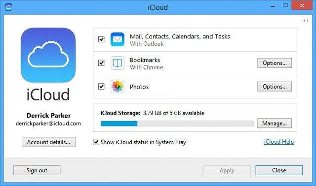 icloud systemsteuerung