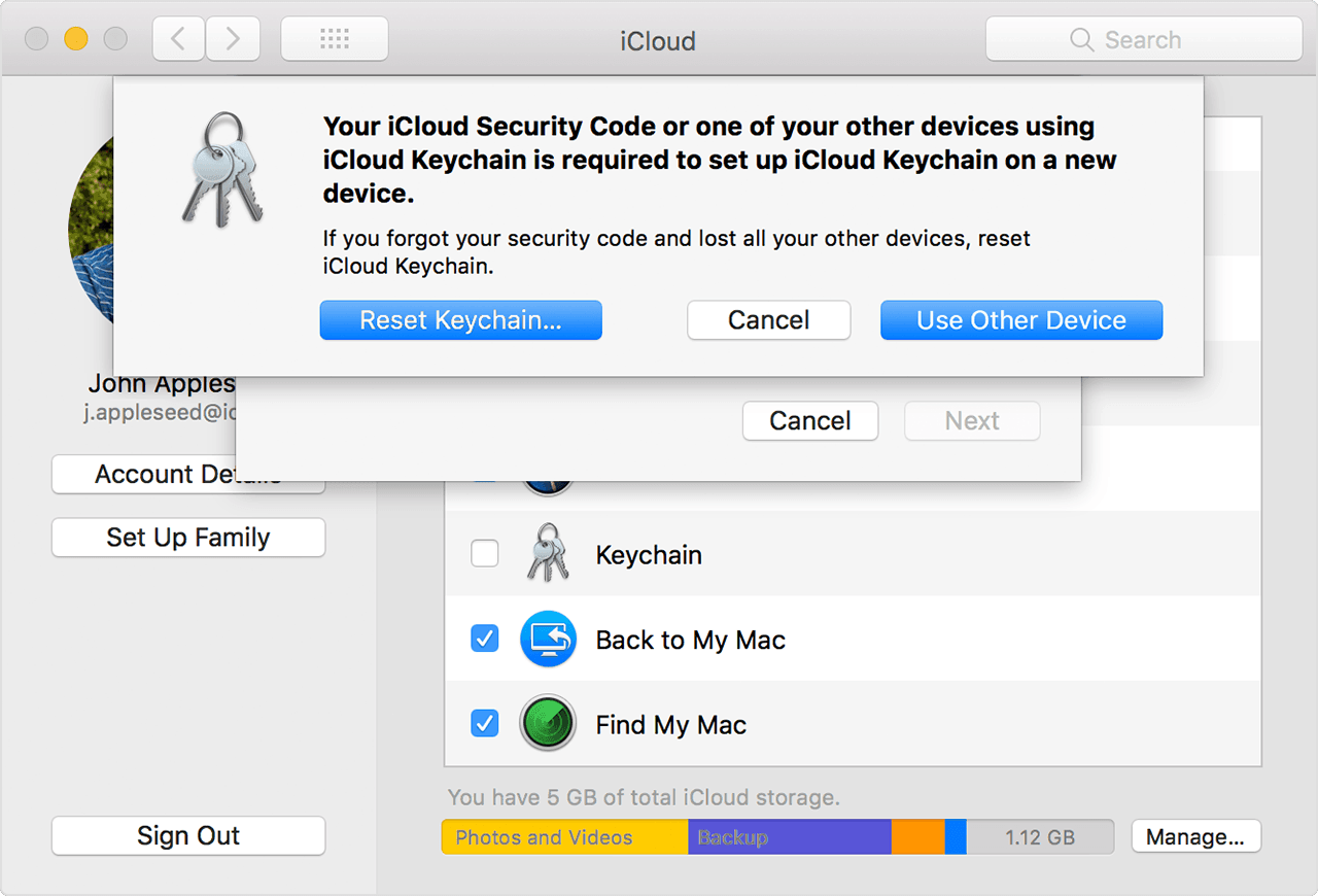 Easy Ways to Recover the iCloud Keychain Security Code b465a50f7