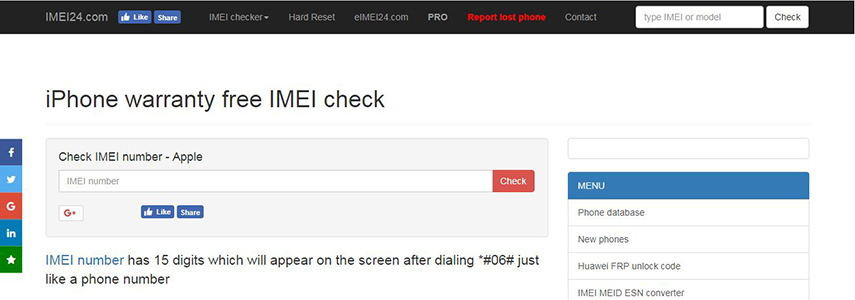 Top Best 7 Free iPhone IMEI Checker Online
