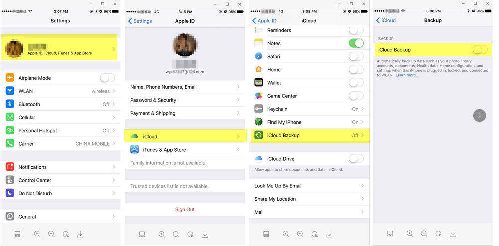 how to download all photos from icloud back to iphone