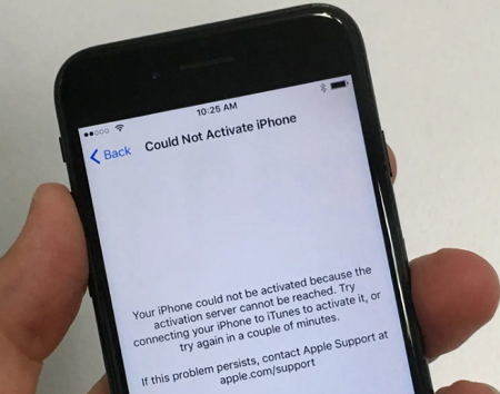 cannot connect to server iphone