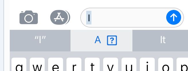 Solved Letter I Showing Weird Symbol In Ios 1111103