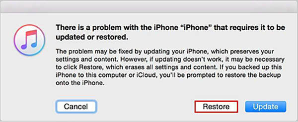 How to restore ipod touch on itunes without updating