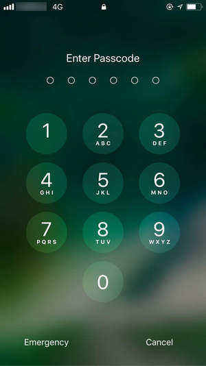 Iphone 6s Plus pin hacken