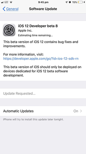 How to Fix iOS 12 3/12 2/12 1 Stuck on Update Requested