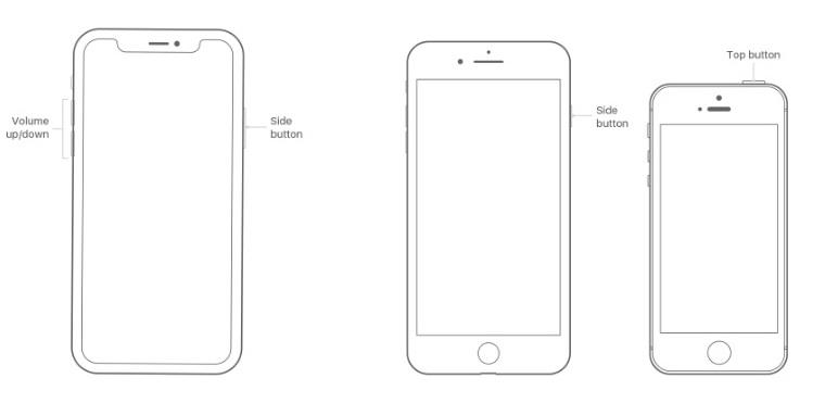 redémarrez l'iPhone pour résoudre le problème d'écho de l'iPhone