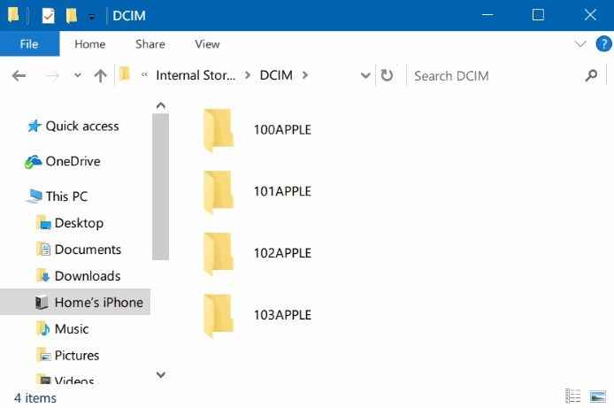 how to connect photos using itunes from iphone to pc