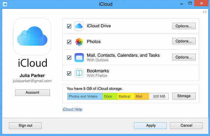 how to get pictures from icloud to android
