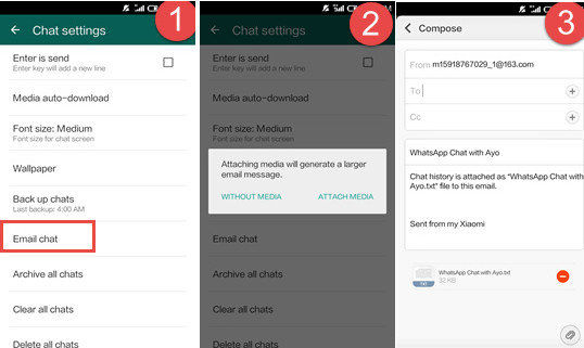 How to transfer your whatsapp chat history from iphone to android