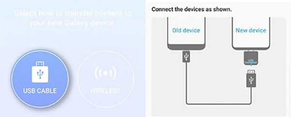 iphone to s9 using smart switch